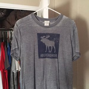 Abercrombie & Fitch Grey Muscle Shirt